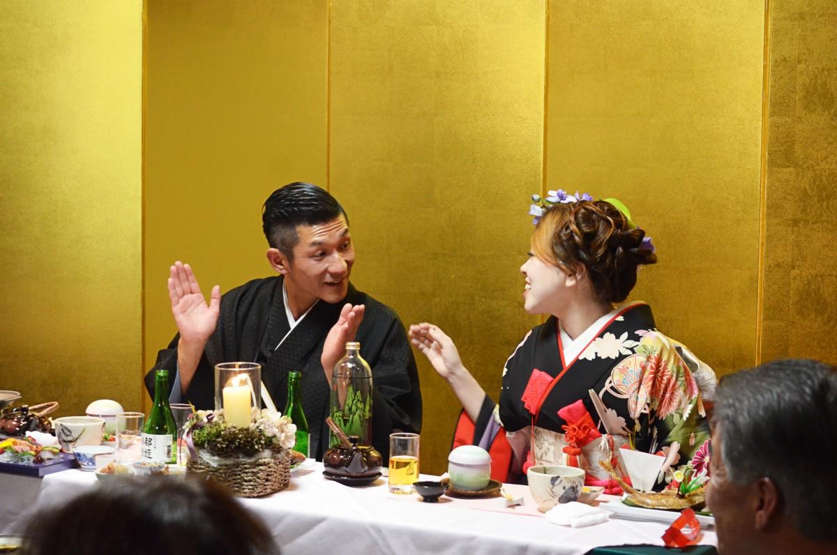 吉本お笑い芸人笑い飯哲夫さんの披露宴をさせていただきました。
